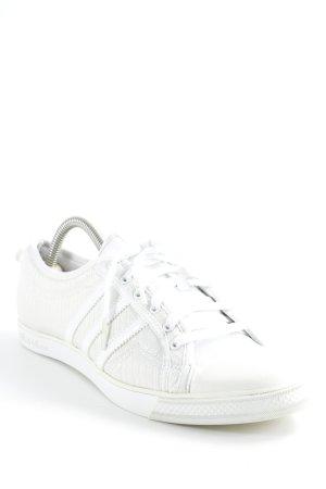Adidas Schnürsneaker creme-weiß College-Look