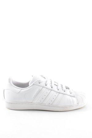 "Adidas Sneaker stringata ""Superstar"" bianco"