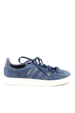 Adidas Zapatilla brogue azul look casual