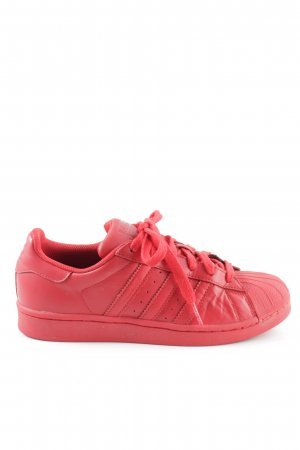 """Adidas Lace-Up Sneaker """"X PHARRELL WILLIAMS SUPERSTAR"""" red"""