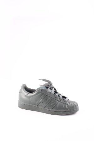 Adidas Schnürsneaker dunkelgrau-grüngrau klassischer Stil