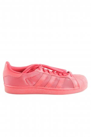 Adidas Lace-Up Sneaker pink themed print casual look