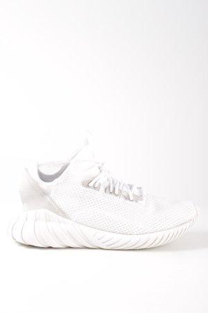 Adidas Basket à lacet blanc imprimé allover style décontracté