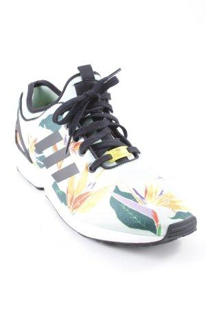 Adidas Sneaker stringata motivo floreale stile casual