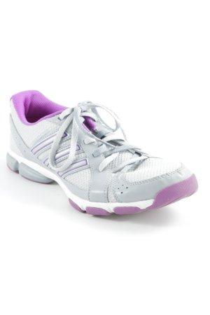 Adidas Schnürsneaker grau-violett Casual-Look