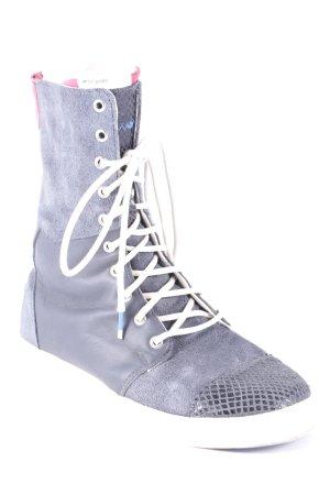 Adidas Schnürsneaker graublau-wollweiß sportlicher Stil
