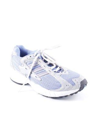 Adidas Schnürsneaker hellblau-hellgrau sportlicher Stil