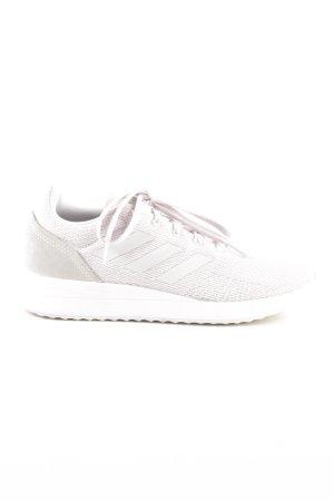 Adidas Schnürsneaker hellrosa-hellgrau sportlicher Stil