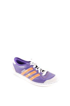Adidas Schnürsneaker lila-dunkelorange sportlicher Stil