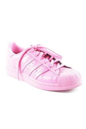 Adidas Schnürsneaker pink sportlicher Stil