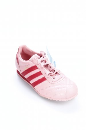 Adidas Schnürsneaker rosa-dunkelrot klassischer Stil