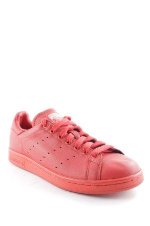Adidas Schnürsneaker rot sportlicher Stil