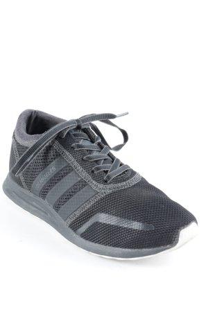 Adidas Zapatilla brogue negro-gris oscuro look casual
