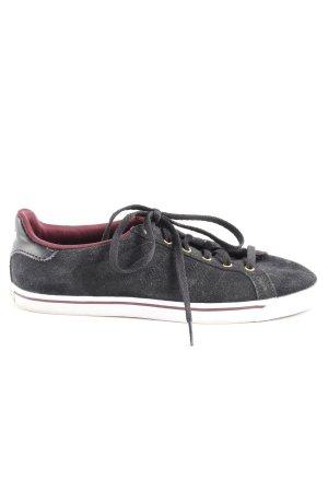 Adidas Schnürsneaker schwarz-purpur Casual-Look