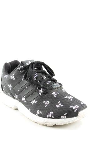 Adidas Schnürsneaker taupe-weiß Motivdruck Casual-Look