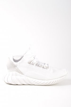 Adidas Schnürsneaker weiß Allover-Druck Casual-Look