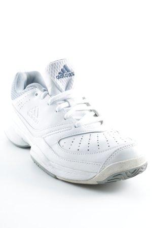 Adidas Schnürsneaker weiß-graublau Casual-Look