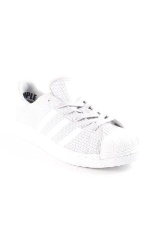 Adidas Schnürsneaker weiß-hellgrau meliert Casual-Look