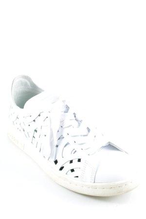 Adidas Schnürsneaker weiß sportlicher Stil