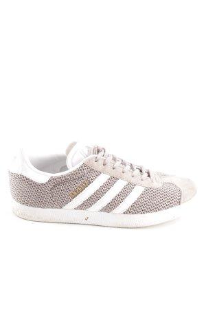 Adidas Schnürsneaker wollweiß-weiß Streifenmuster Casual-Look