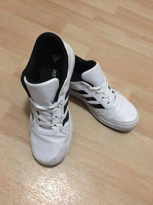 Adidas Basket à lacet blanc-noir