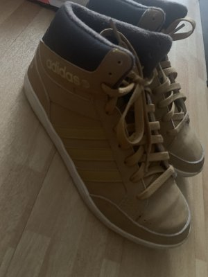 Adidas Lace-Up Sneaker camel