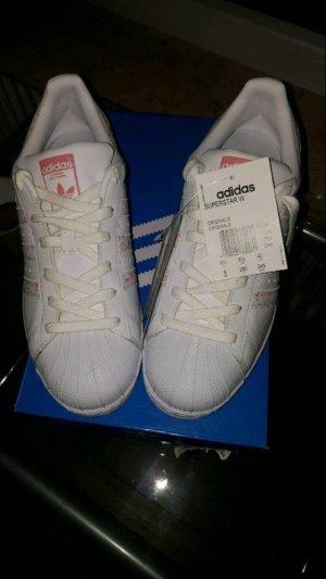 Adidas Originals Sneaker stringata bianco-rosa