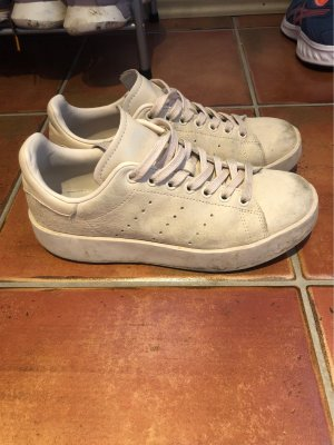 adidas stan smith Basket à lacet rosé