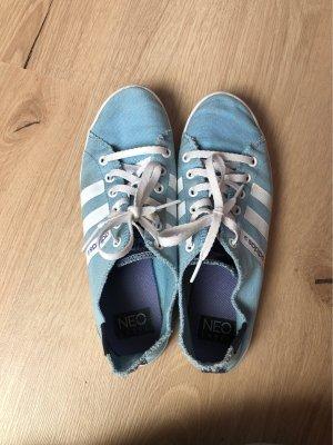 Adidas NEO Sneakers met veters azuur-wit