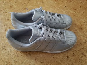 Adidas Basket argenté