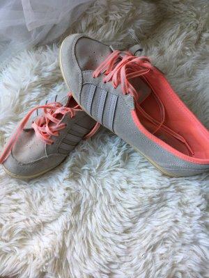 Adidas Sneaker slip-on grigio chiaro