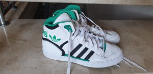 Adidas High top sneaker wit-turkoois