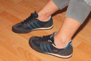 Adidas Originals Sneaker stringata blu scuro