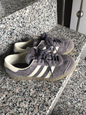 Adidas Sneaker stringata grigio-viola-grigio