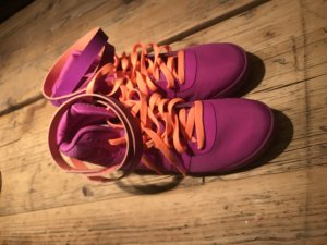 Adidas Schuhe lila orange 39