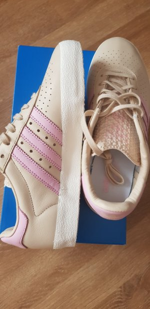 Adidas Originals Basket beige clair-rosé