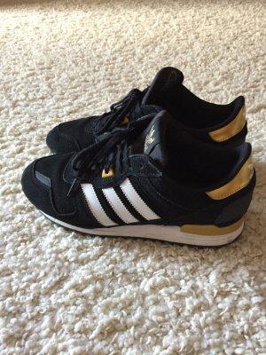 Adidas Schuhe schwarz/weiß/gold in Größe 38 2/3