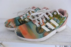 adidas Schuhe Turnschuhe Sneaker Zx Flux Tropical Torsion weiß grün nude bunt Gr. 38
