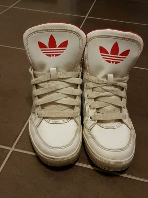 Adidas Schuhe weiß/rot