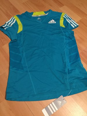 Adidas Originals Sports Shirt yellow-blue