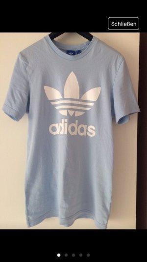 Adidas Camiseta estampada azul celeste