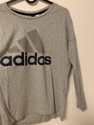 Adidas Long Shirt light grey