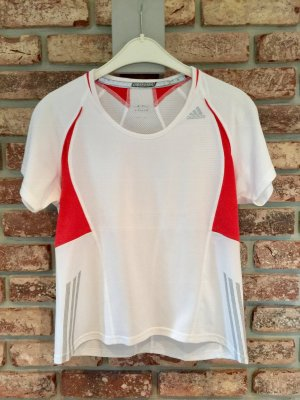 Adidas Sports Shirt white-red