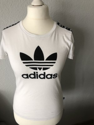 Adidas Originals T-shirt bianco-nero