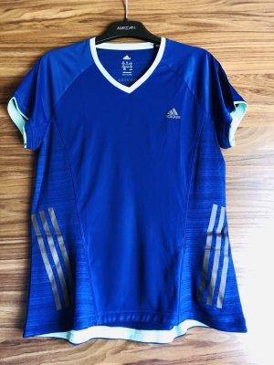 Adidas Camisa deportiva azul-turquesa