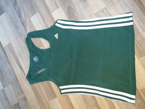 100 Camisa deportiva blanco-verde bosque