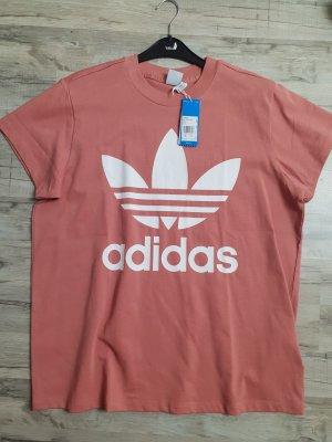 Adidas T-shirt rosa-albicocca