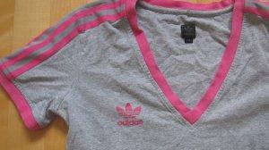 Adidas Shirt Gr. 38 in grau, pink
