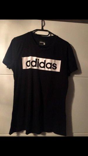 Adidas shirt Größe L schwarz weiß sportlich