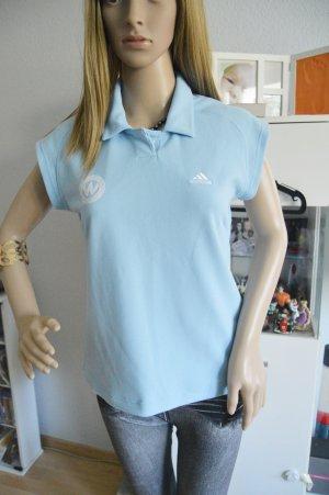 Adidas Shirt hellblau gr.38